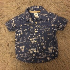 Baby boy shirt from Carter's size 6 months
